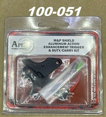 Apex Tactical Duty/Carry Action Trigger Kit - For Smith & Wesson M&P Shield 9/40