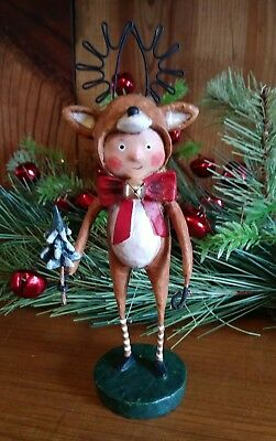 """Lori Mitchell's """"LITTLE DASHER"""" 2018 Christmas Series Collectible"""