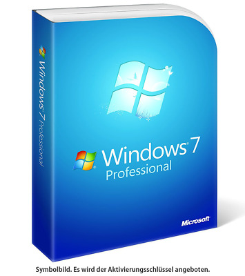 Windows 7 Professional [32 Bit & 64 Bit] ✔ KEY BLITZVERSAND ✔ Vollversion ✔ NEU