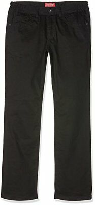 (TG. 14 anni) Nero (Black 2) Gol Five-Pocket-Stretch Extra-Weit, Jeans (9JH)
