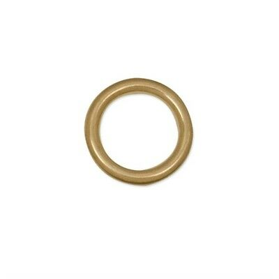 Cast Ring Sb - 3 4 Solid Brass Leathercraft Decorative Accent Tandy