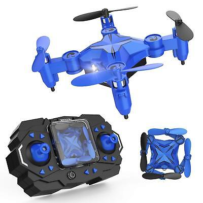 DROCON Cyclone Mini RC Blue Drone 901H for Beginners Kids Training Quadcopter