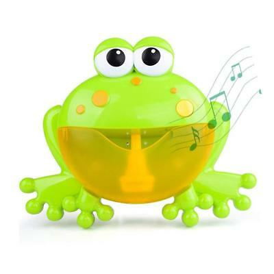 Baby Kids Shower Bathroom Toy Crab Bubble Maker Toys Bath Tub Fun Music Water AU