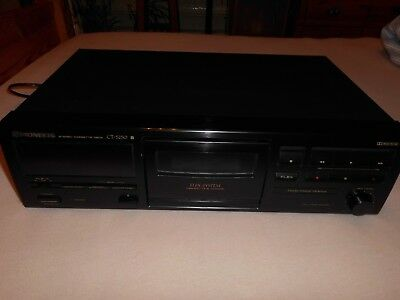 PIONEER CT-S250 Stereo Cassette Tape Deck- in Top- Zustand !