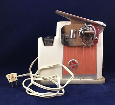 Vintage 1960s HOOVER Electric Can Opener Retro Kitchen Mid-Century WORKS!