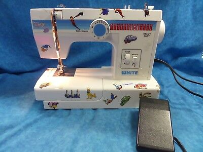 THE WHITE COMPANY Sewing Machine White Sewing Machine Model No40 Adorable White Sewing Machine 1477