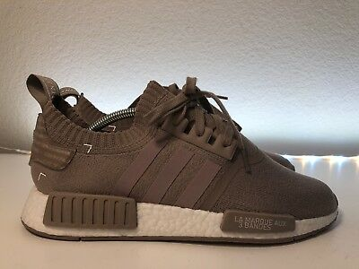 1905b897e Adidas NMD R1 PK Primeknit French Beige White Size 10.5 Boost S81848 Japan  Pack