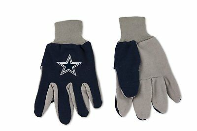 Dallas Cowboys Utility Gloves Work Gloves Garden Gloves Sport Gloves NEW