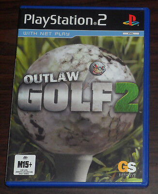 PS2. Outlaw Golf 2 (PAL EUR/AUS) Sony Playstation 2 Game