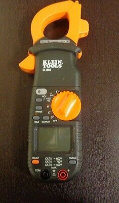 Klein CL1000 400 Amp AC Digital Clamp Meter --*Z*