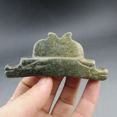 Chinese jade, noble collection,Hongshan culture, jade, dragon, pendant N53