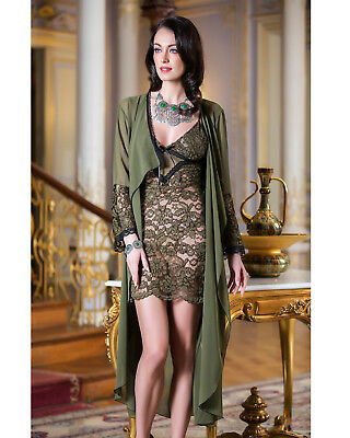 Women Chiffon and Lace Nightdress and Gown   European Products