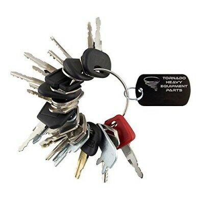 24 Keys Heavy Equipment/Construction Ignition Key Set 24 Key Set