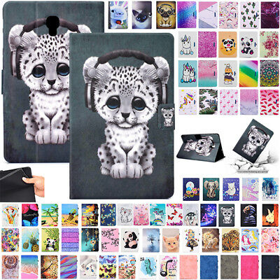 For Samsung Galaxy Tab SM-T350 T380 T590 T830 Magnetic Leather Wallet Case Cover