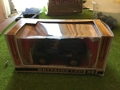 BRITAINS DEETAIL 1:32 BRITISH SCOUT CAR No 9781 - MADE IN ENGLAND