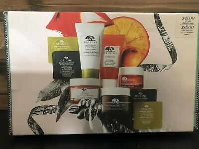 Origins SuperStars Mini Skincare Set, GinZing, Clear Improvement, Night...9 PC