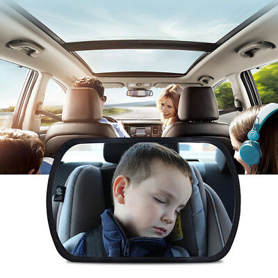 Safety 360 Degree Adjustable Baby Car Back Seat Mirror Toddler Rear Facing View