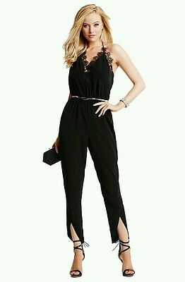 7b97760cd024 🍃💋 GUESS BY Marciano Black Lace Jumpsuit 💋🍃 -  134.73