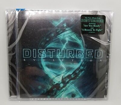 NEW SEALED Disturbed -Evolution (Brand New CD 2018)