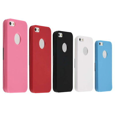 Ultra Thin Slim Magnetic Flip PU Leather Case Cover For iPhone 5 HY