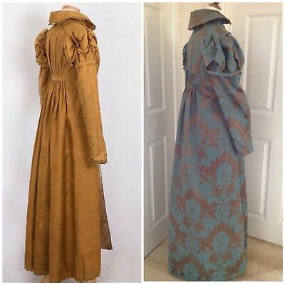 Jane Austen Regency Pelisse, Museum Replica Pelisse Made To Measure, Colours