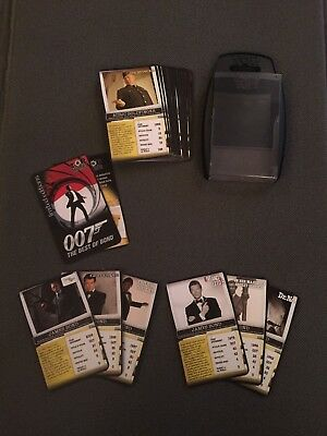 Ian Fleming James Bond 007 Limited Edition Top Trumps Near Mint Un Played