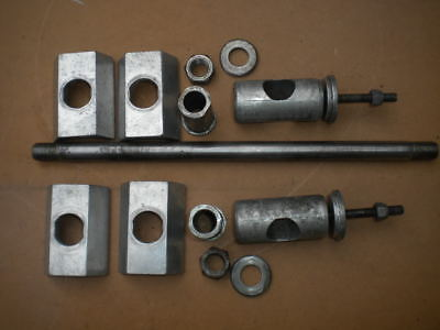 Cagiva Alazzurra - Asse ruota anteriore posteriore / Front and Rear Wheel Axles