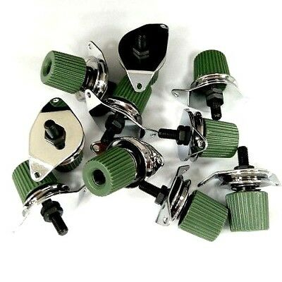 10X   First Tension Comp. (Green Plastic Knob)  Tajima Embroidery Machines