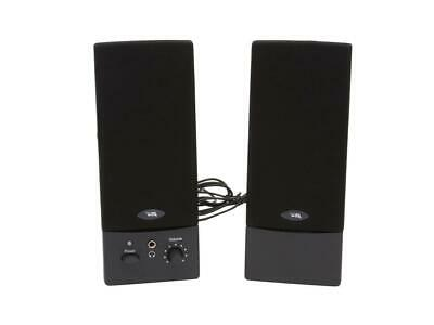 Cyber Acoustics CA-2016wb 3 Watts 2.0 USB Amplified Computer Speaker System