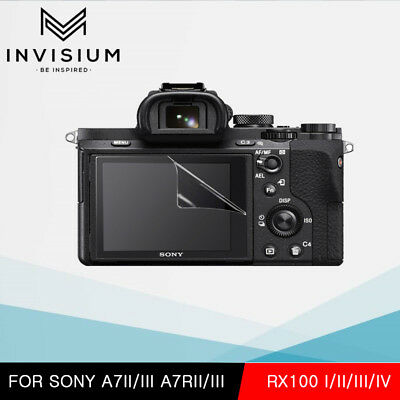 INVISIUM HD Screen Protector Film Guard Sony A7II A7III A7RII A7RIII RX100