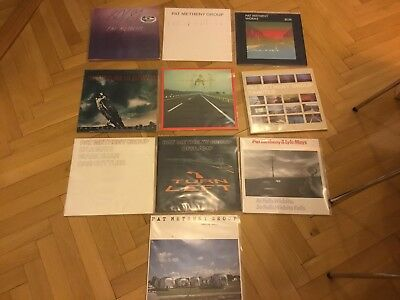 10 x Vinyl LP Pat Matheny und Pat Matheny Group - Jazz Sammlung