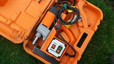 Alfra rotabest max 38 plus 110v Magnetic Drill  with Carry Case
