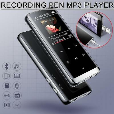 Bluetooth MP3 Voice Recorder Mini MP4 Lossless HIFI Music MP5 Walkman mp6 Player