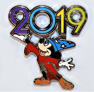 Disney Parks Exclusive 2019 Mystery Box Collection Mickey Sorcerer Pin NEW CUTE