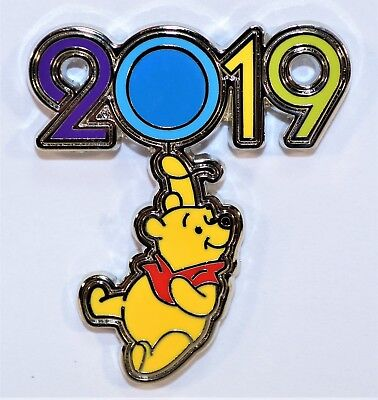 Disney Parks Exclusive 2019 Mystery Box Collection Winnie The Pooh Pin NEW CUTE