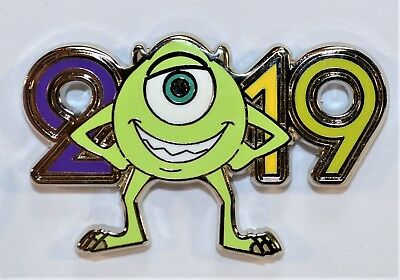 Disney Parks Exclusive 2019 Mystery Box Collection Monster Inc Mike Pin NEW