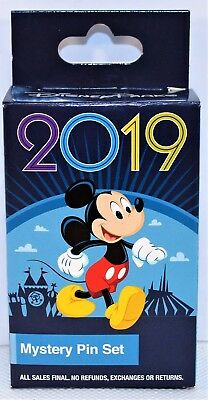 Disney Parks Exclusive 2019 Mystery Box Collection 2 Pin BRAND NEW SEALED CUTE