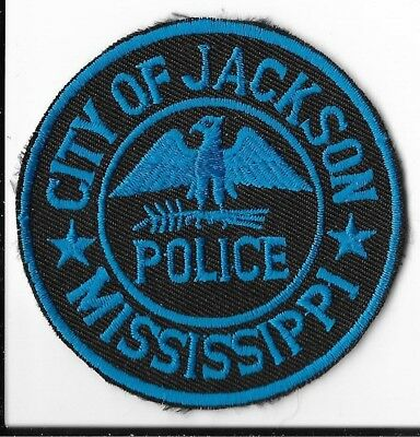 Jackson Police Department, Mississippi Hat Patch