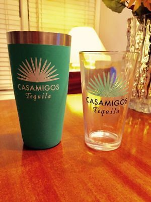 Casamigos Tequila Shaker Set BRAND NEW IN BOX! George Clooney's Brand
