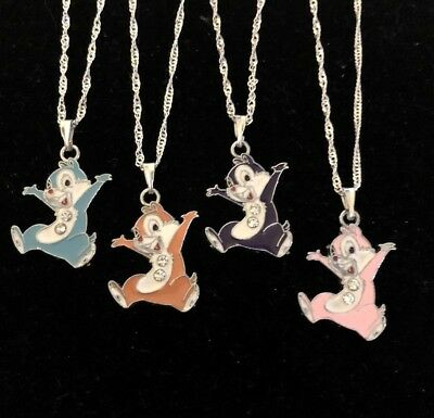 Chip & Dale Style Chipmunk Necklace