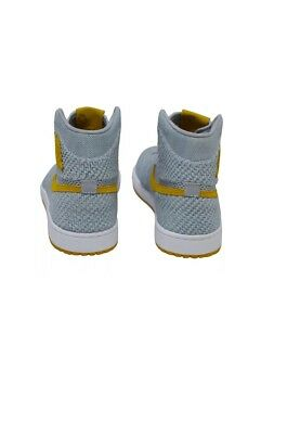 best loved 22dc8 712a6 Nike Air Jordan 1 Retro High Flyknit Wolf Grey UK 8.5 Trainers boots