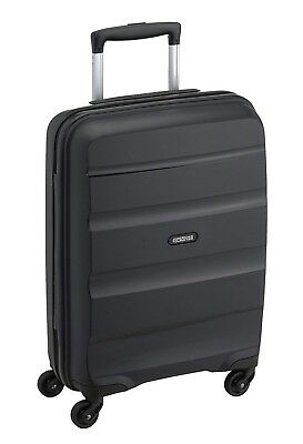 American Tourister Bagage Cabine Bon Air 55cm Valise Rigide 4 Roues Trolley Noir