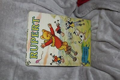 Signed 1982 Rupert Annual Vg To Fine Condition