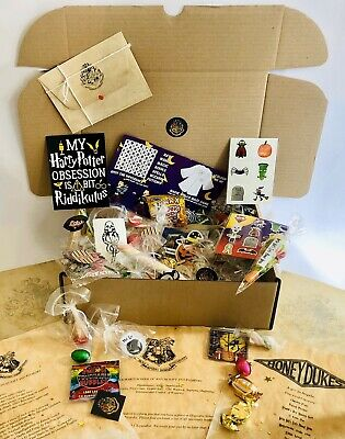 Harry Potter Personalised Sweets Toys Gift Hamper and Hogwarts Acceptance Letter
