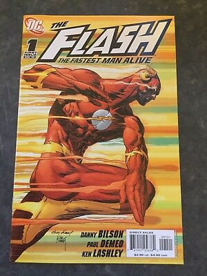 Flash: The Fastest Man Alive 1 - Variant Cover (Modern Age 2006) - 9.4