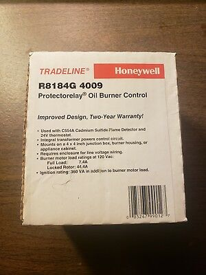 Honeywell Oil Burner Primary Control 45 second Part# R8184G-4009
