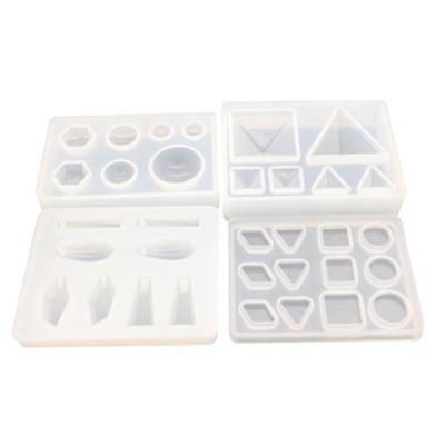 UK Silicone Pendant Mold Making Jewelry For Resin Necklace Mould Craft DIY Tool