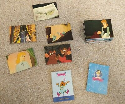 ⭐RARE⭐ Disney's Cinderella Card Set - Full Set of 112 CARDS issued by SkyBox USA