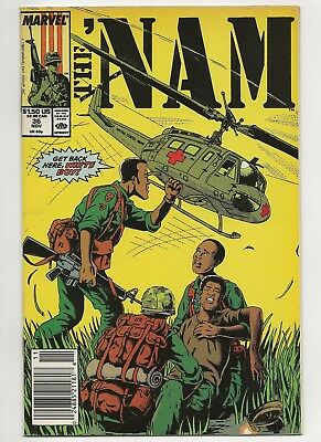 The 'Nam #36  VF/NM  Marvel (1986 Series)    *Free Shipping*