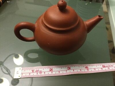 Small clay teapot NWOT Unwanted gift Undamaged, New never used